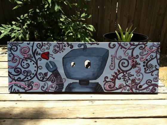Wrig the Wrenchbot (c) Elise M. Gross