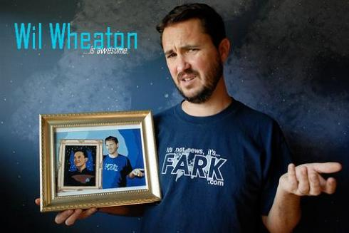 Wil Wheaton is also AMAZING.